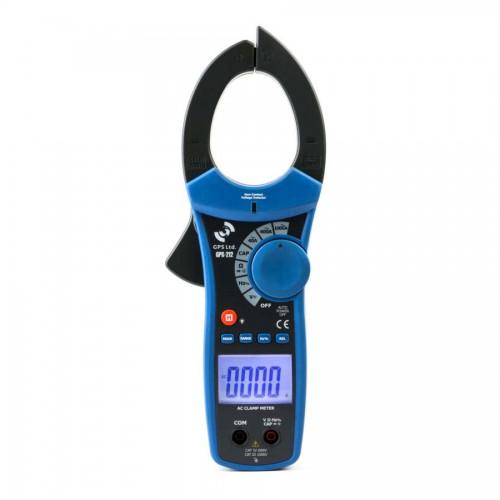 آمپر متر چنگکی ( کلمپ متر) ACدیجیتالی True-RMSمدل GPS-212