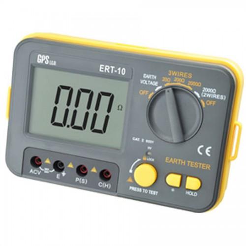 دستگاه ارت تستر سه سیمه دیجیتالی پرتابل مدل ERT-10