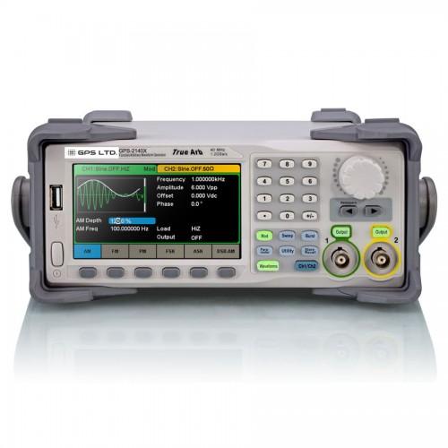 فانکشن ژنراتور دو کاناله 120MHz تاچ اسکرین مدل GPS-21120X