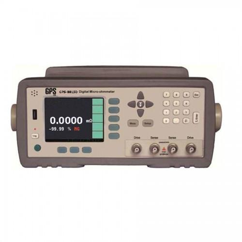دستگاه میکرواهم متر دیجیتالی رومیزی مدل GPS-8815D