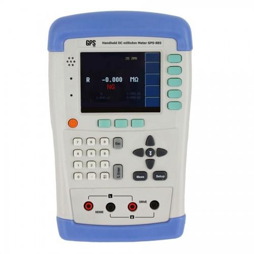 دستگاه میلی اهم متر پرتابل مدل GPS-885